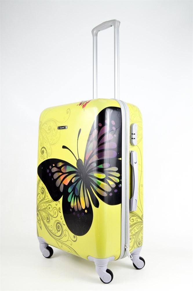 Купить чемодан с бабочкой