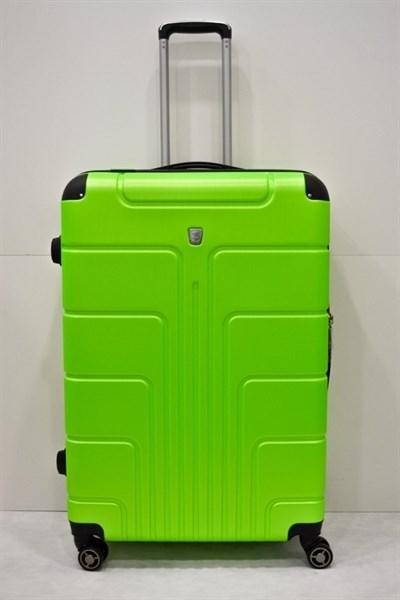 Чемодан большой PC зеленый кислотно - фото 14841