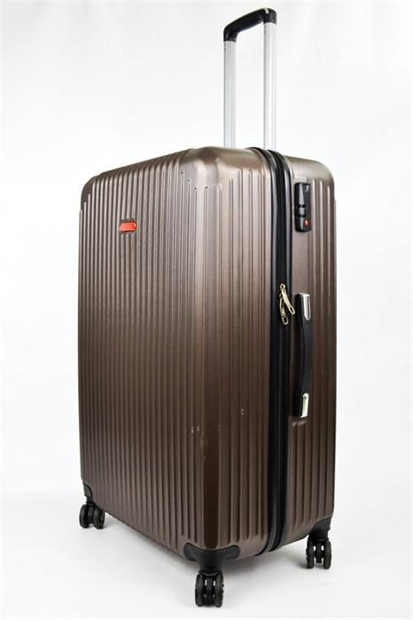 Чемодан средний ABS NL коричневый - фото 22559