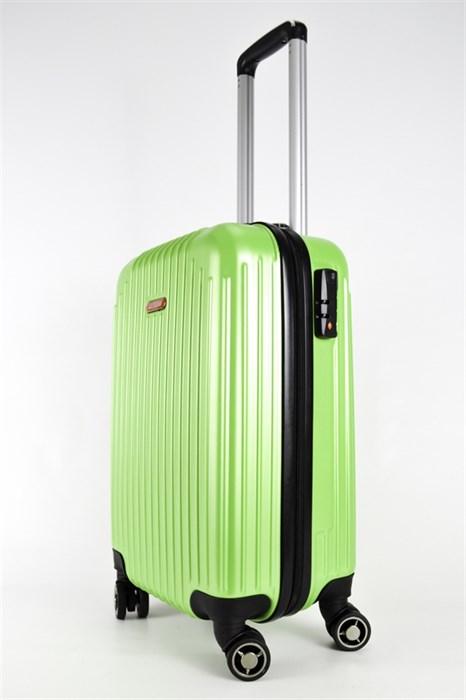 Чемодан маленький ABS NL зеленый - фото 23914