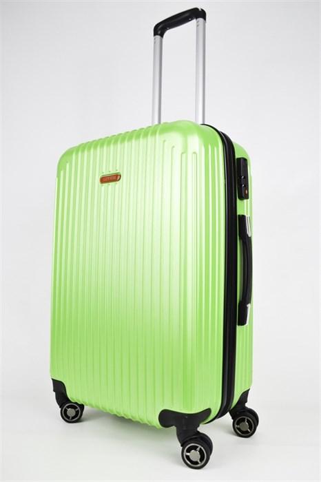 Чемодан средний ABS NL зеленый - фото 24819