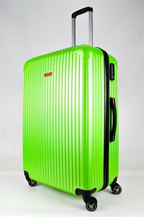 Чемодан большой ABS NL зеленый - фото 25754