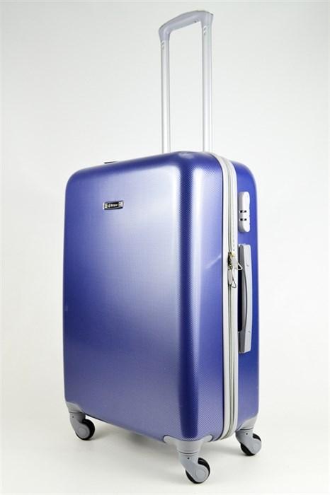 Чемодан средний ABS Bonjour синий - фото 26619
