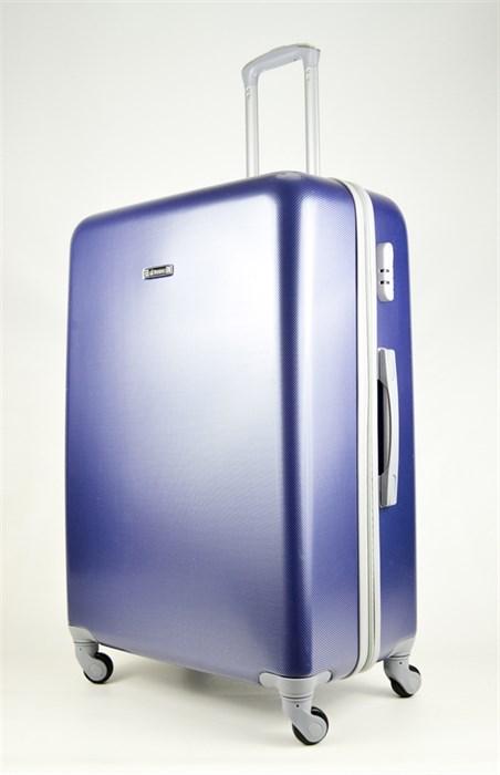 Чемодан большой ABS Bonjour синий - фото 26702
