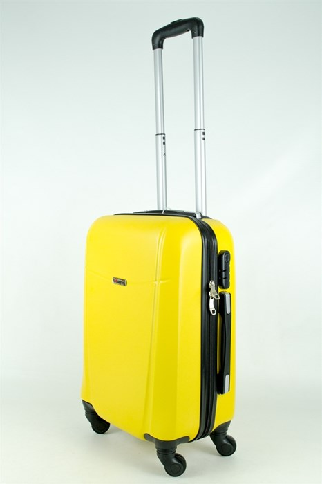 Чемодан маленький PC+ABS MAGGIE желтый - фото 27871
