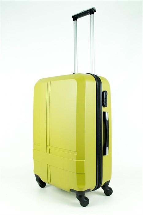 Чемодан средний PC+ABS MAGGIE N4 оливковый - фото 28496
