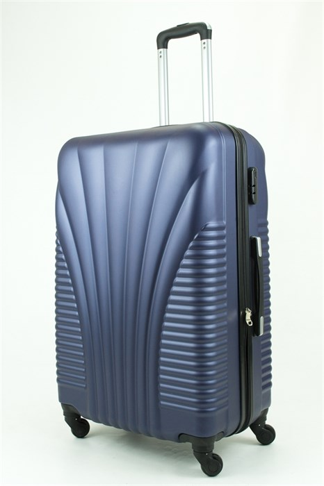 Чемодан большой PC+ABS Maggie N5 темно-синий - фото 28921