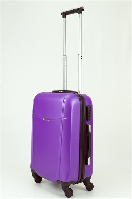 Чемодан маленький ABS TT (буква Н) фиолетовый (Ч) - фото 29096