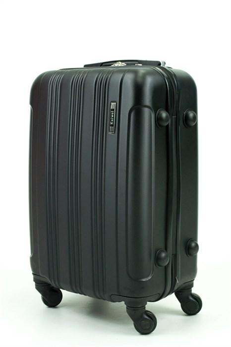 Чемодан маленький ABS Kaivel черный - фото 29414