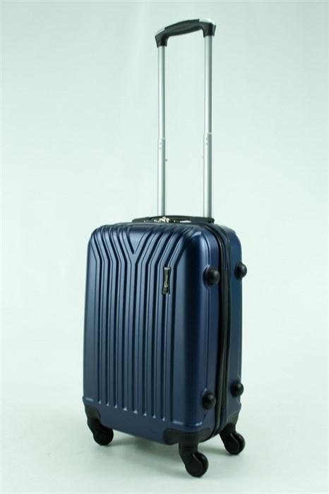 Чемодан Пластиковый синий У-образный 01789 - фото 30669