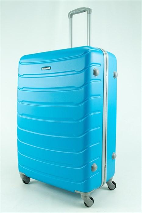 Чемодан большой ABS Kaivel голубой - фото 30734
