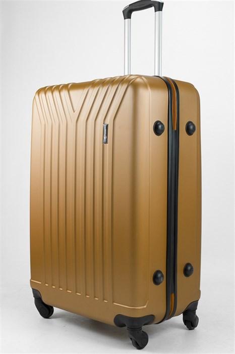 Чемодан большой ABS TT (У-образный) золотой - фото 32219