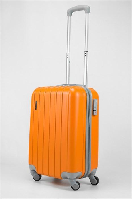 Чемодан маленький ABS Deybaul оранжевый - фото 32451
