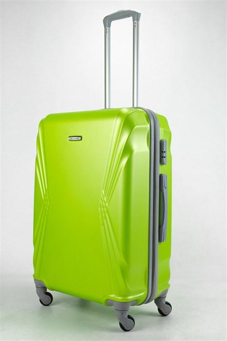 Чемодан большой ABS KK зеленый - фото 32919