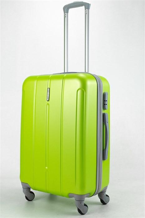 Чемодан средний ABS KK зеленый - фото 32935