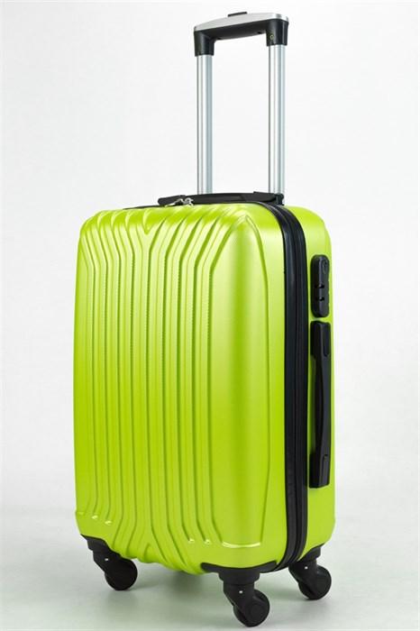 Чемодан маленький ABS (У-образный, коротк  ручка) зеленый - фото 32973