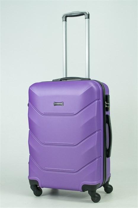 Чемодан средний ABS Freedom фиолетовый (Ч) - фото 33384