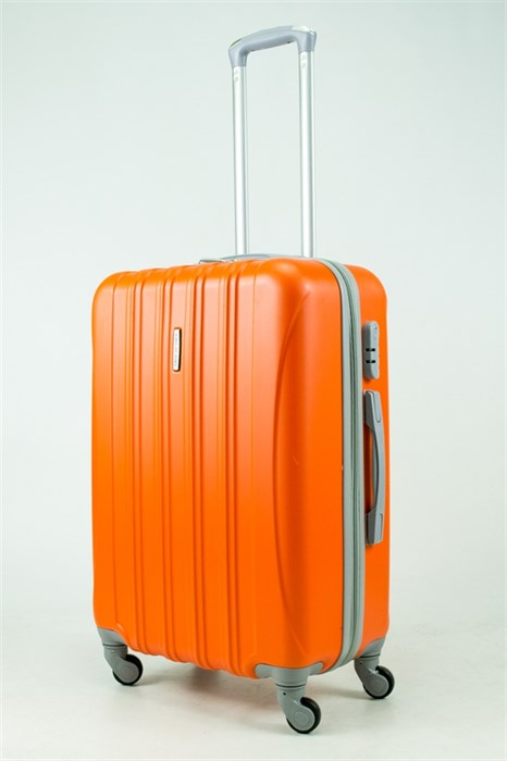 Чемодан M ABS KK 5(4) полос  оранжевый (С) - фото 33417