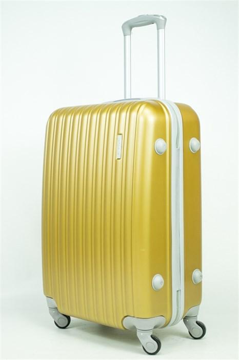 Чемодан средний ABS Tracker золотой - фото 34166