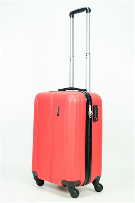 Чемодан маленький ABS Freedom (трезубец) красный (Ч) - фото 34548