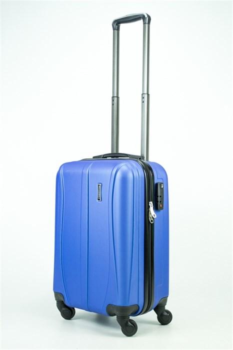 Чемодан маленький ABS Freedom (трезубец) синий (Ч) - фото 35207