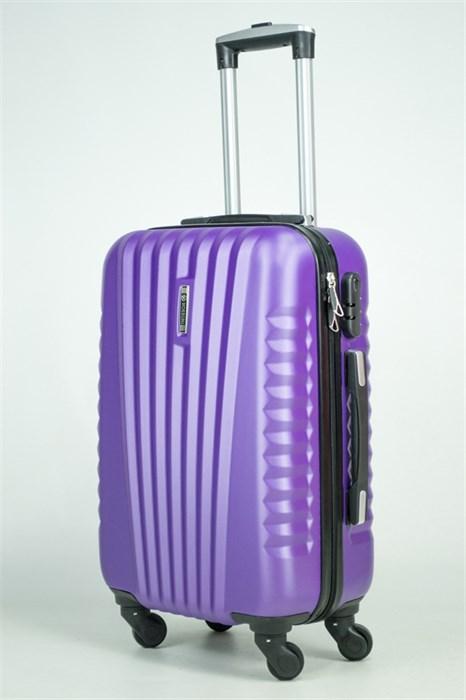 Чемодан маленький ABS Hossoni фиолетовый - фото 35584