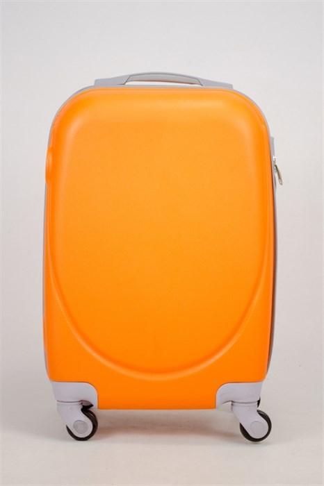 Чемодан маленький ABS 360-гр  оранжевый (С) - фото 35833