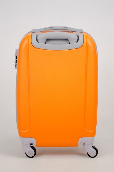 Чемодан маленький ABS 360-гр  оранжевый (С) - фото 35834