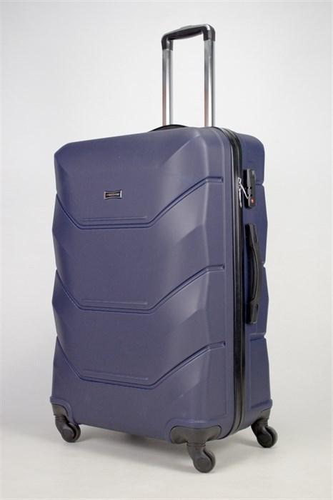 Чемодан большой ABS Freedom темно-синий (Ч) - фото 36008