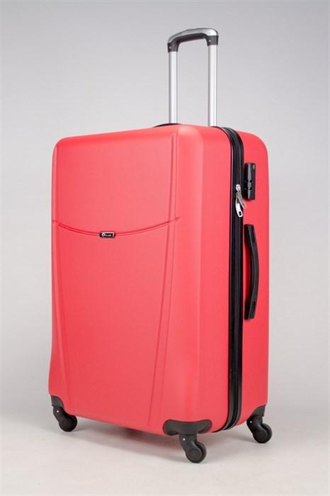 Чемодан большой ABS TT (буква Н)  красный - фото 36365