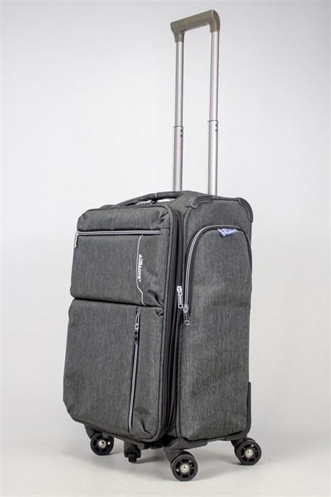 Чемодан текстильный средний Aobaote TSA замок - фото 36420
