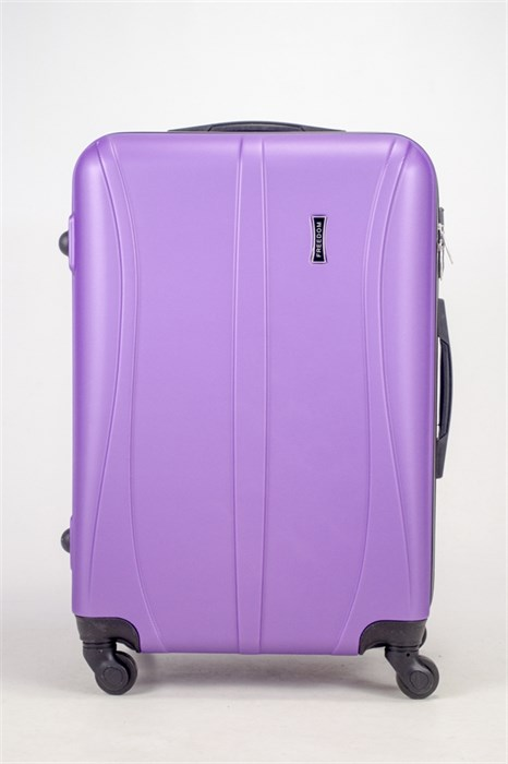 Чемодан средний ABS Freedom (трезубец) фиолетовый (Ч) - фото 36680