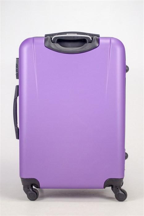Чемодан средний ABS Freedom (трезубец) фиолетовый (Ч) - фото 36681