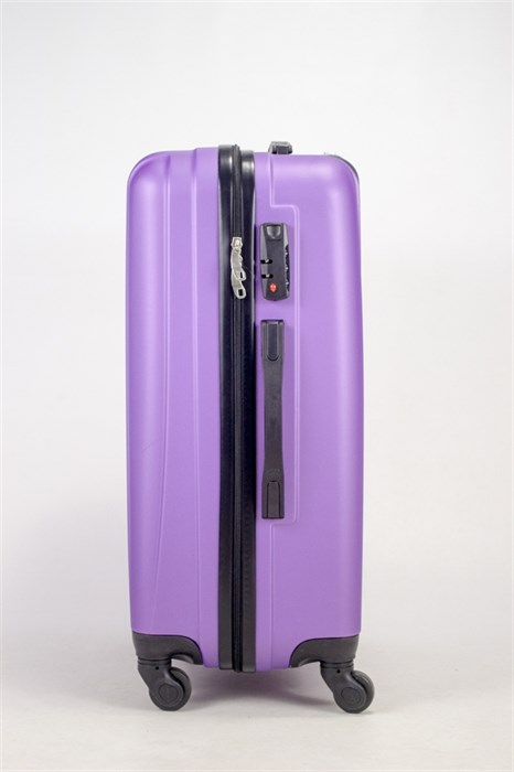 Чемодан средний ABS Freedom (трезубец) фиолетовый (Ч) - фото 36682