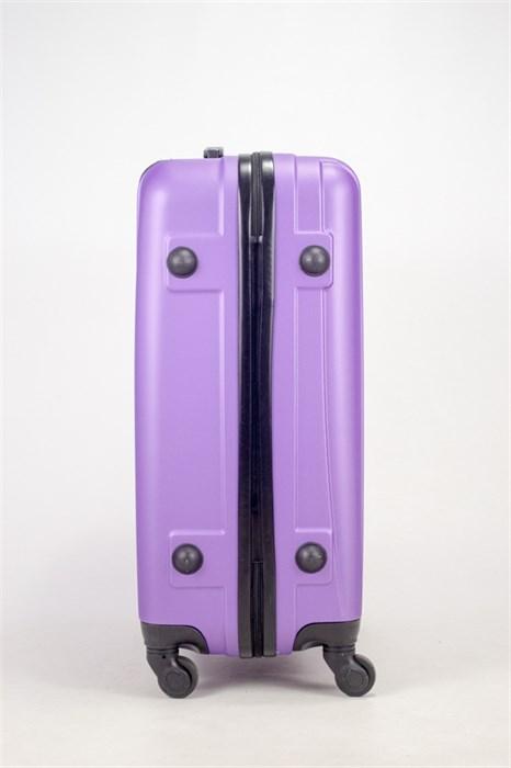 Чемодан средний ABS Freedom (трезубец) фиолетовый (Ч) - фото 36683