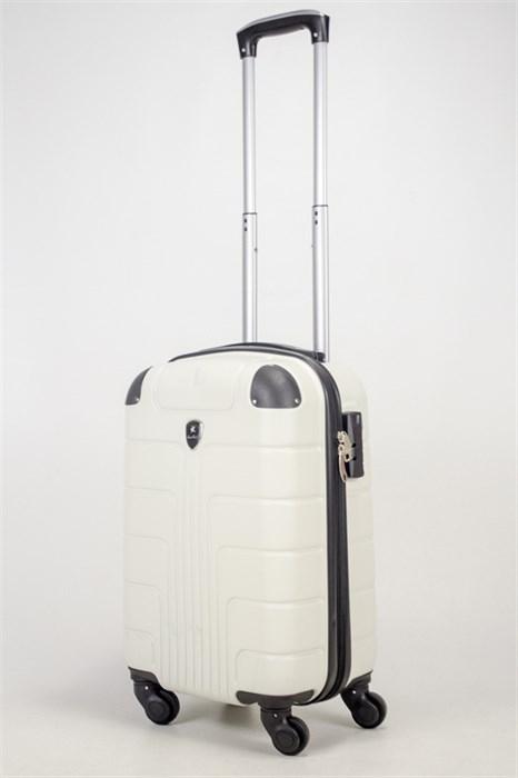 Чемодан маленький ABS Smart Travel белый - фото 36691
