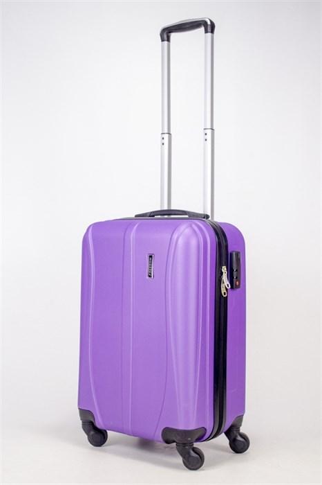 Чемодан маленький ABS Freedom (трезубец) фиолетовый - фото 36703