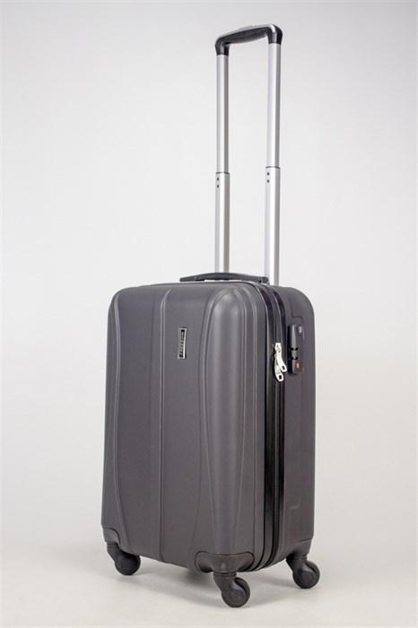 Чемодан маленький ABS Freedom (трезубец) черный - фото 36747