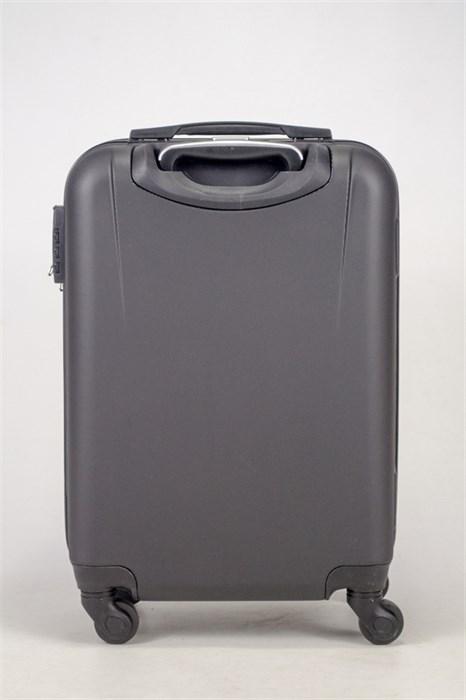 Чемодан маленький ABS Freedom (трезубец) черный - фото 36749