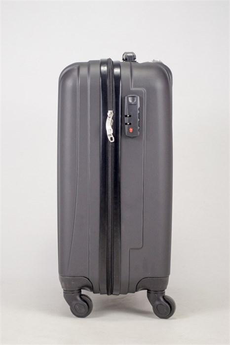 Чемодан маленький ABS Freedom (трезубец) черный - фото 36750