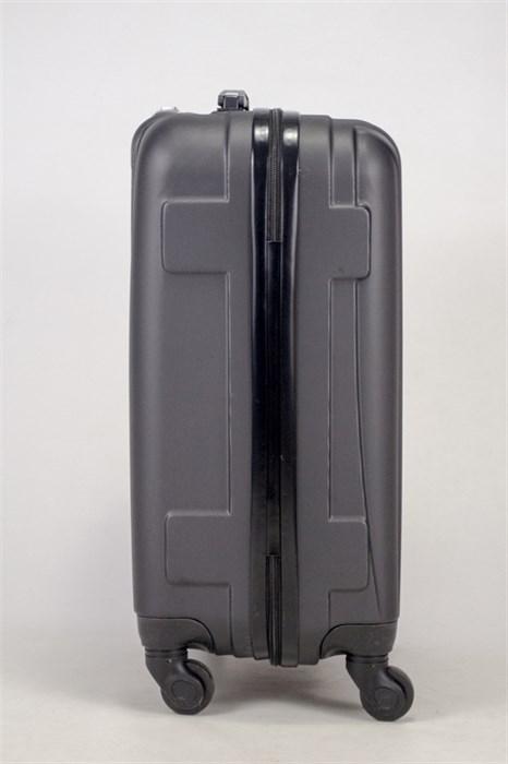 Чемодан маленький ABS Freedom (трезубец) черный - фото 36751