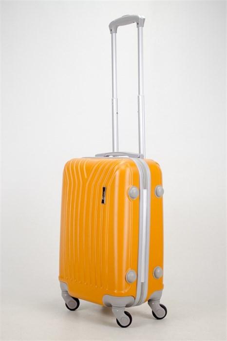 Чемодан маленький ABS TT (У-образный) оранжевый - фото 36850