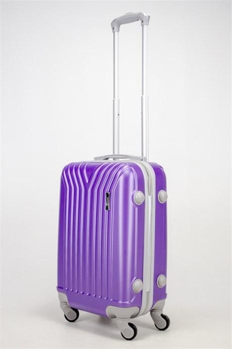 Чемодан маленький ABS TT (У-образный) фиолетовый СФ - фото 37037