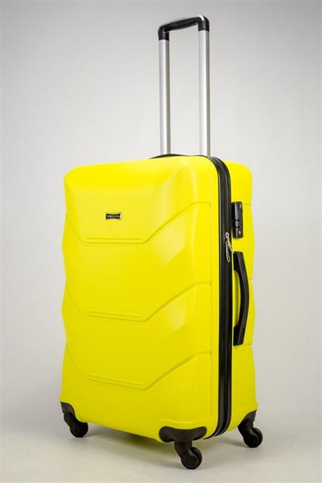 Чемодан большой ABS Freedom желтый (Ч) - фото 37062