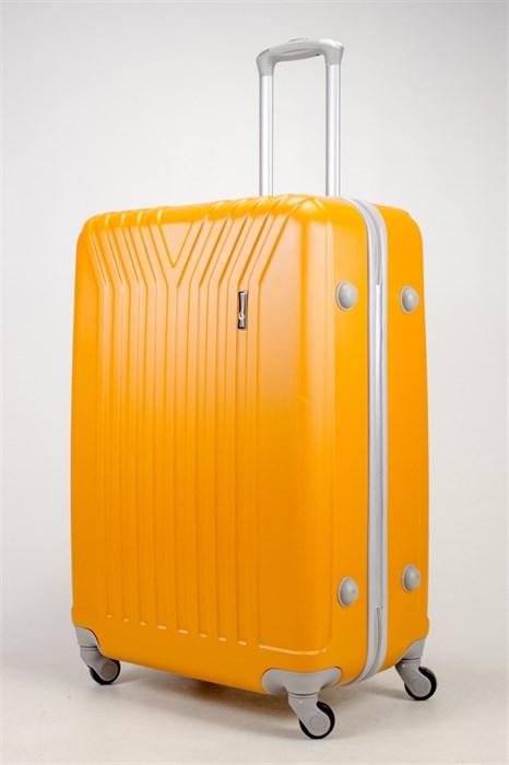 Чемодан большой ABS TT (У-образный) оранжевый СФ - фото 37116