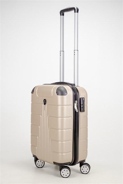 Чемодан маленький ABS Smart Travel песочный - фото 37419