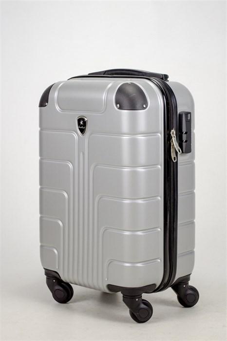 Чемодан маленький ABS Smart Travel серебро - фото 37458
