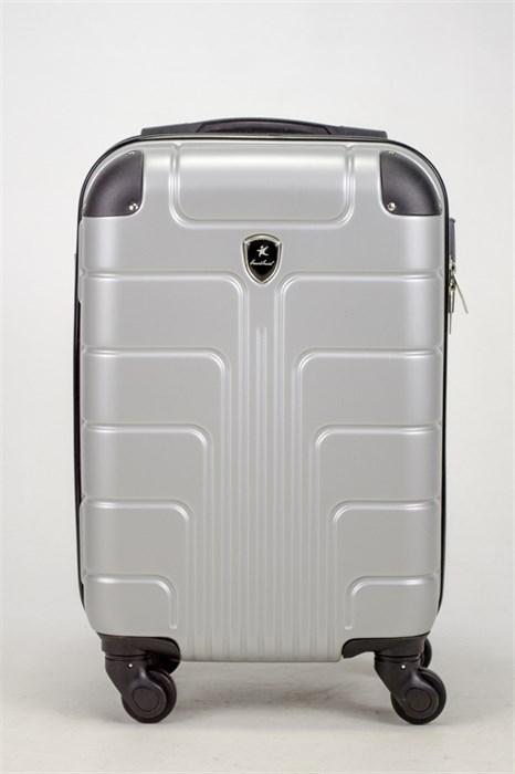 Чемодан маленький ABS Smart Travel серебро - фото 37459