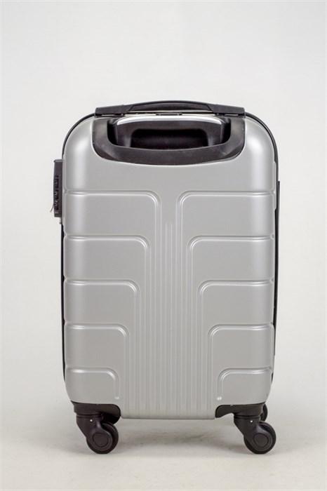 Чемодан маленький ABS Smart Travel серебро - фото 37460