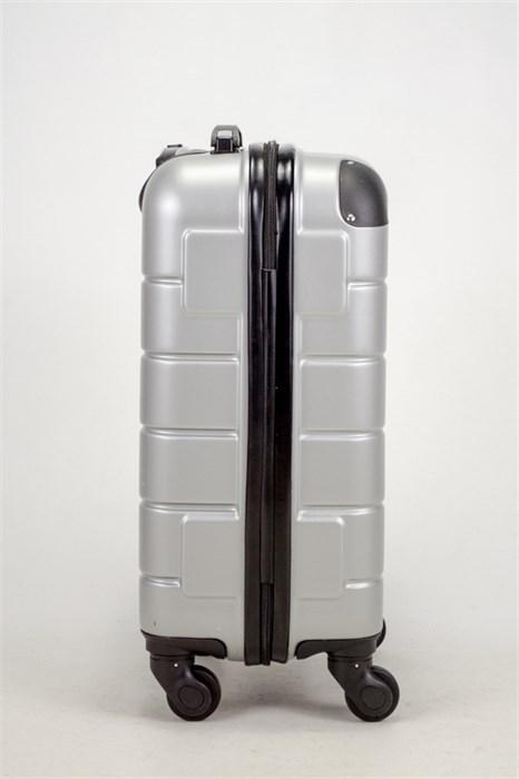 Чемодан маленький ABS Smart Travel серебро - фото 37462